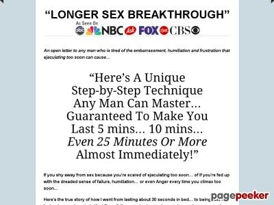 Premature Ejaculation Humiliation Stories