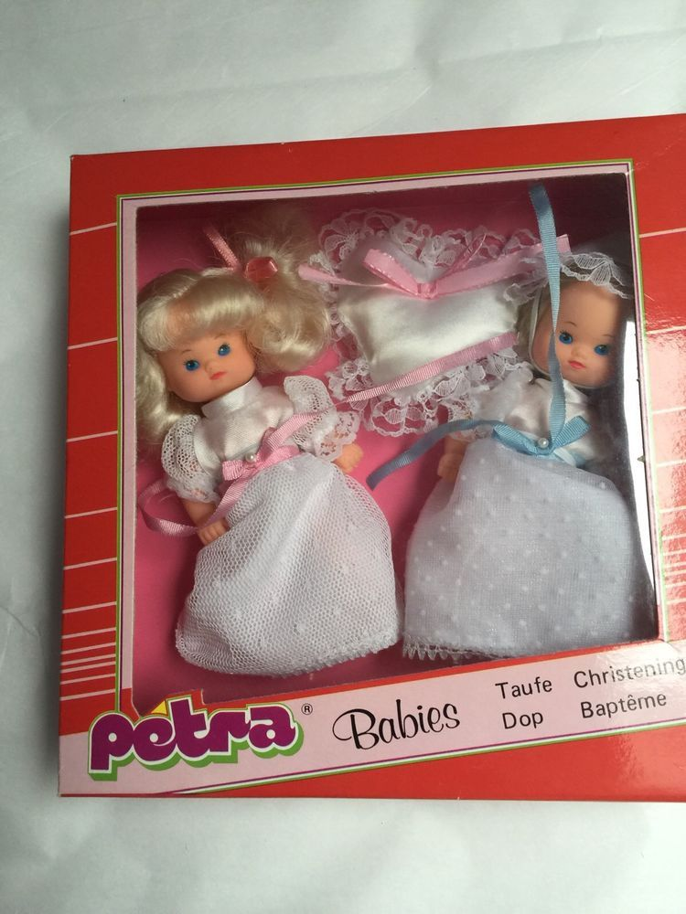 #Vintage 19#80s rare petra twin babies nrfb mib! made in germany from $14.99