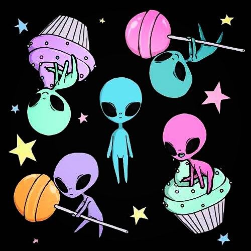here are some cute aliens to end your night