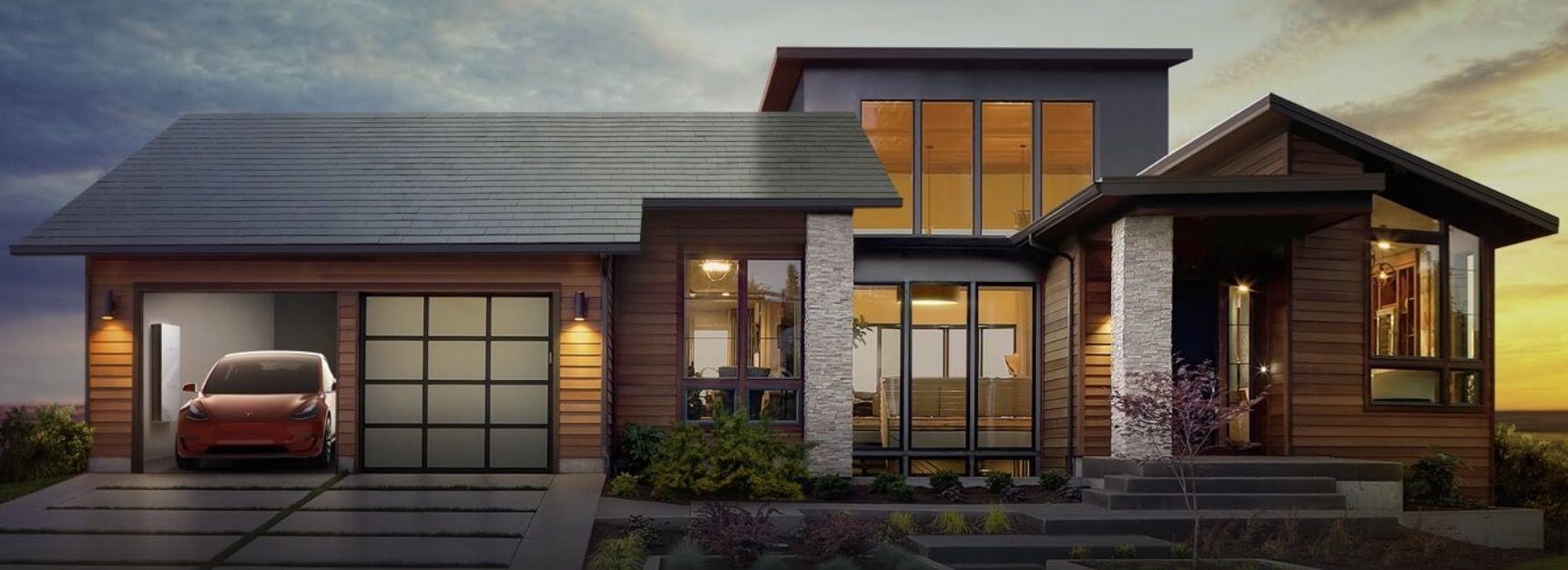 Elon Musk Zaprezentowal Swiatu Swoj Pomysl Na Dach Solarny Wyglada To Niesamowicie Glownie Dlatego Ze Prezen Solar Roof Shingles Solar Roof Tesla Solar Roof