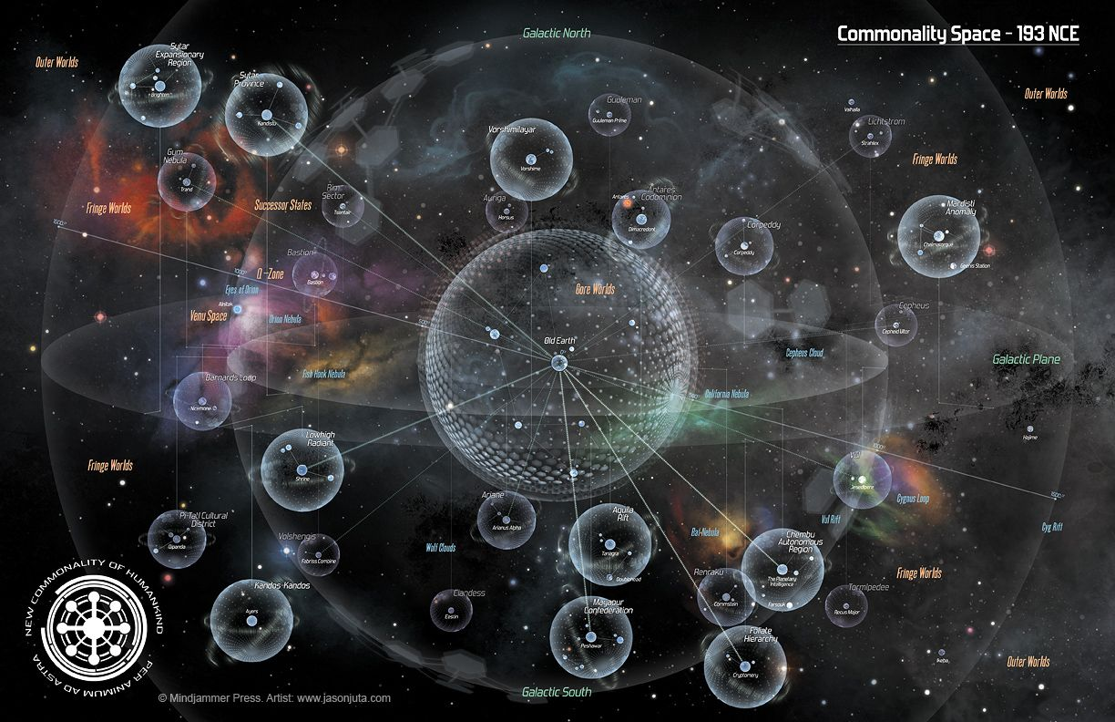 Commonality Space by jasonjuta Mindjammer outer space ...