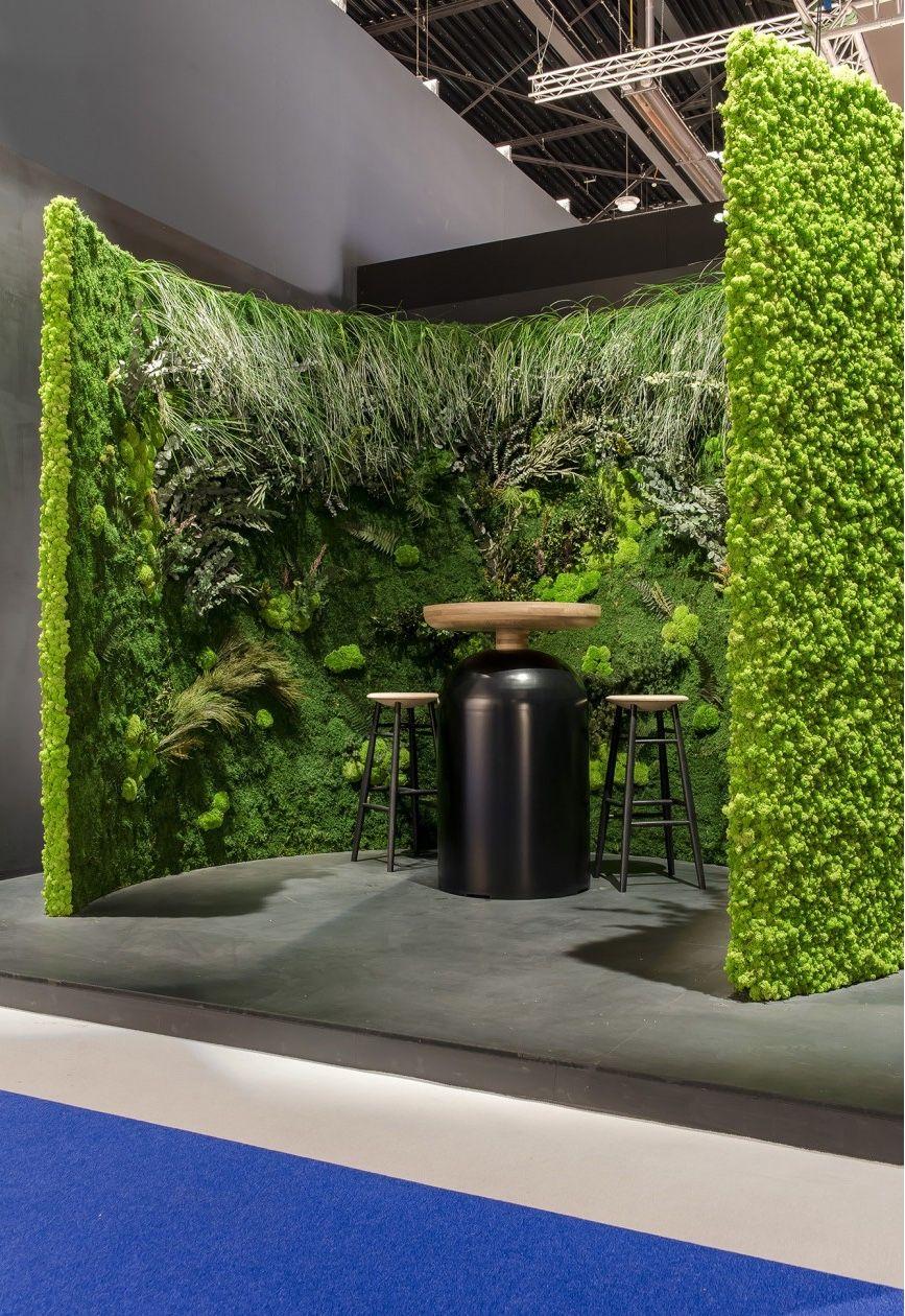 Exhibition Stand Gumtree : Color therapy: go green horeca exhibition booth design
