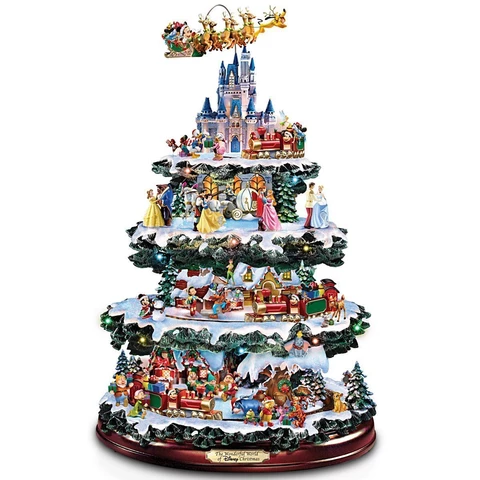 2020 The Disney Christmas Carousel Tree Moonlightby In 2020 Disney Christmas Disney Christmas Tree Disney Tree Topper