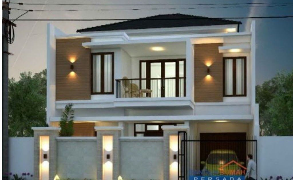 Desain Rumah Minimalis 2 Lantai Ukuran 10x12 Cek Bahan Bangunan