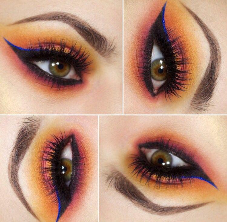 Olhos coloridos!