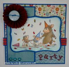 """""""Party Animals """" by Lorraine Aquilina on House-Mouse Designs®"""
