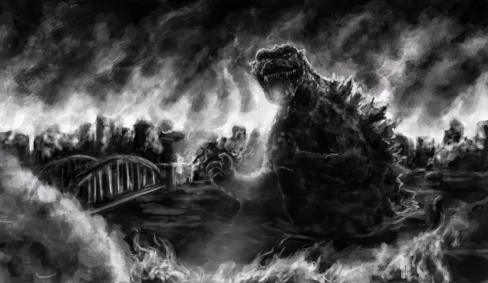 Artstation Godzilla 1954 Maiya Martin Godzilla Kaiju Artwork