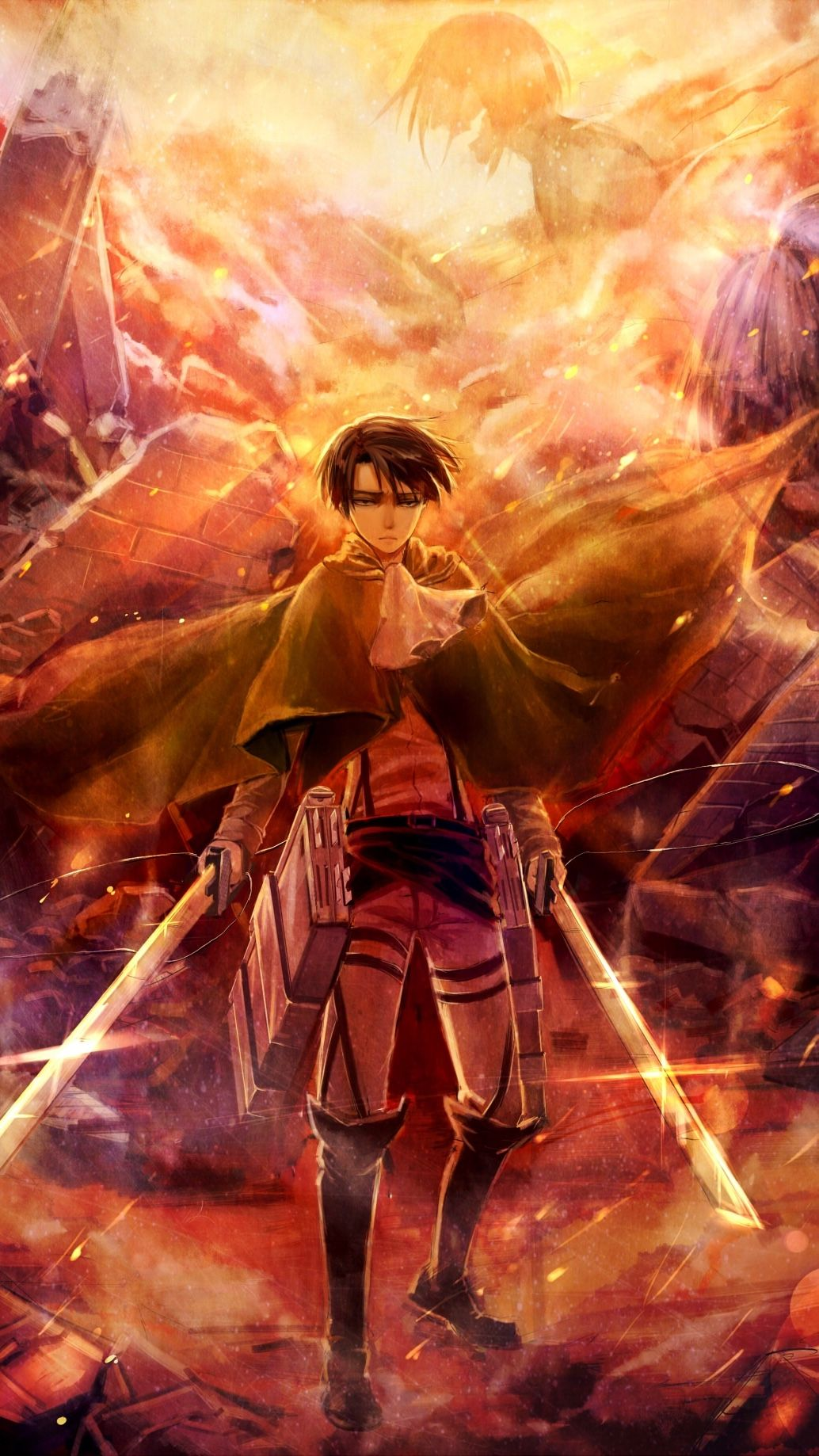 Check The Link To Download Hd Wallpapers Of Attack On Titan And More Pc Phone Anime Attack Attack On Titan Anime Attack On Titan Fanart Titans Anime