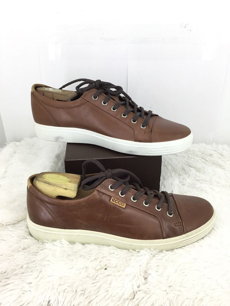 9712e180324909 ECCO MEns Soft 7 Sneaker In Brown Size 44 ???? #fashion #clothing #shoes  #accessories #mensshoes #casualshoes (ebay link)