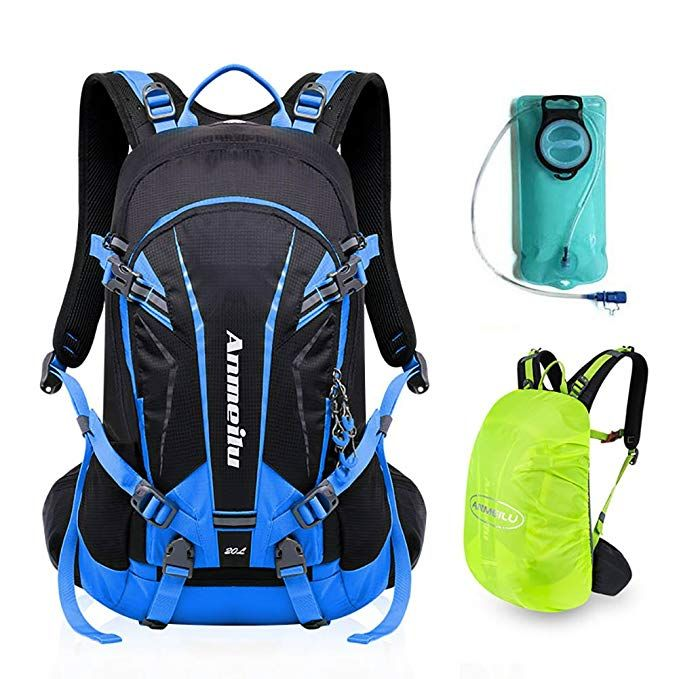 835dc799f2 ANMEILU 20L Hydration Backpack, Hydration Pack for Hiking, Running, Cycling,  Climbing and Outdoor Sports, with 2L Water Bladder Bag and Rain Cover Review
