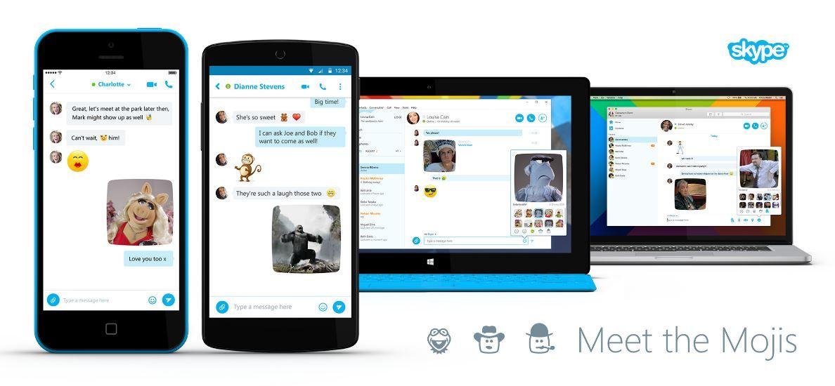 Skype Mojis Ios news, Skype, Android