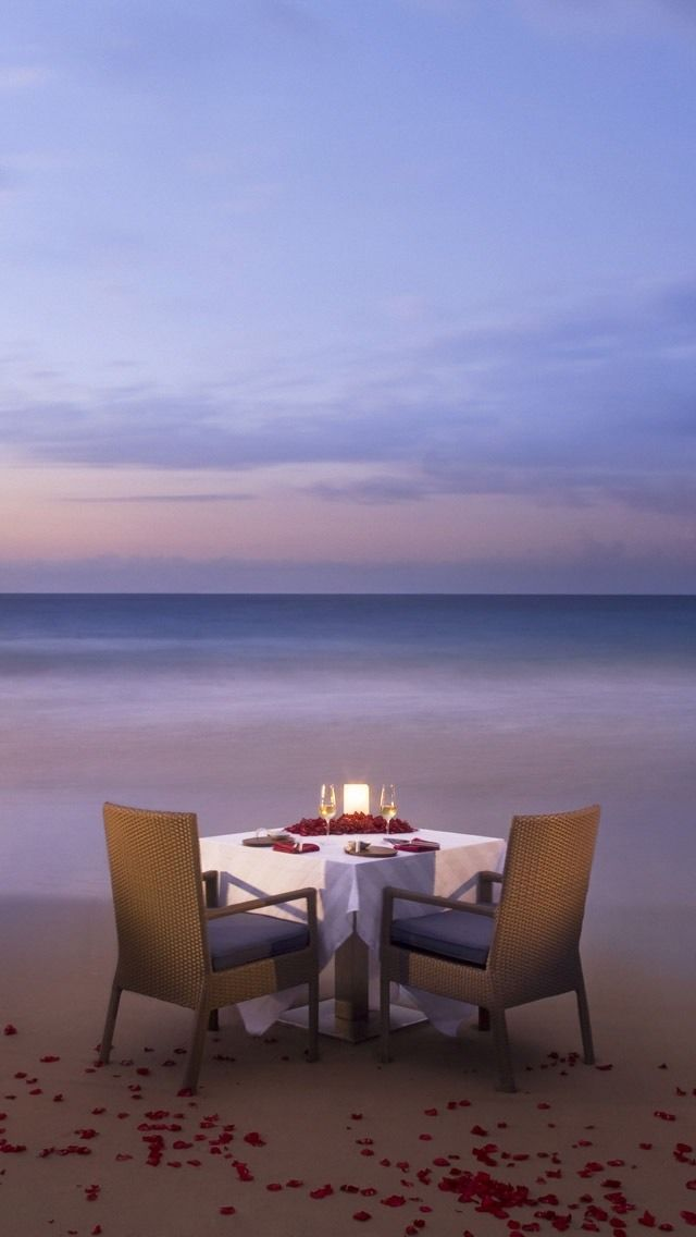 Romantic Dinner For Two Recipes: I Want A Romantic Dinner On The Beach. Come To Think Of It