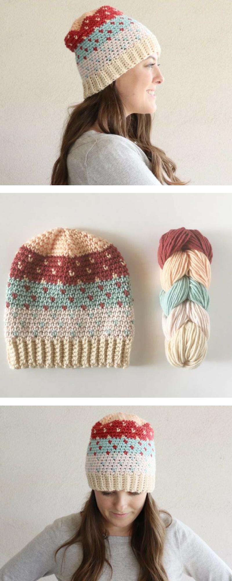 Free Pattern - Crochet Pantone Hat   Free Crochet Patterns ...