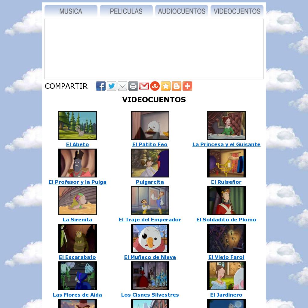 Música, películas, audiocuentos y vídeocuentos, snapped on Snapito!