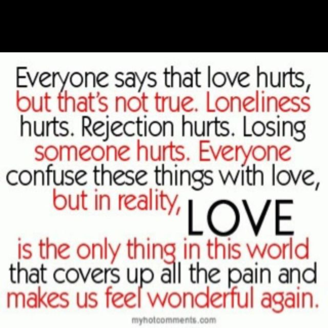 Love is all you need...