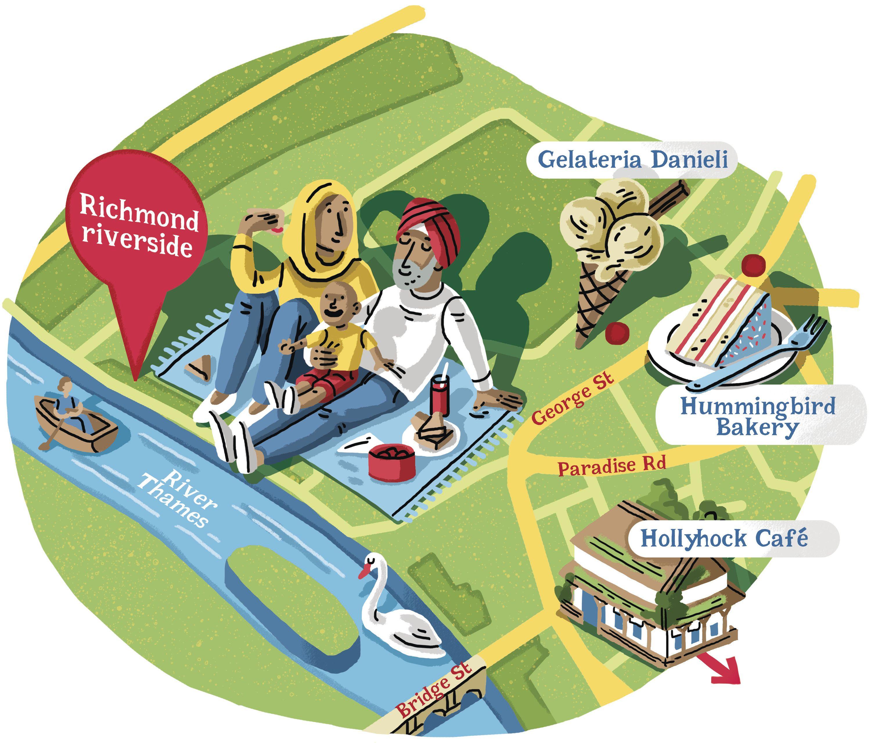 Seven hidden picnic spots in London parks London park