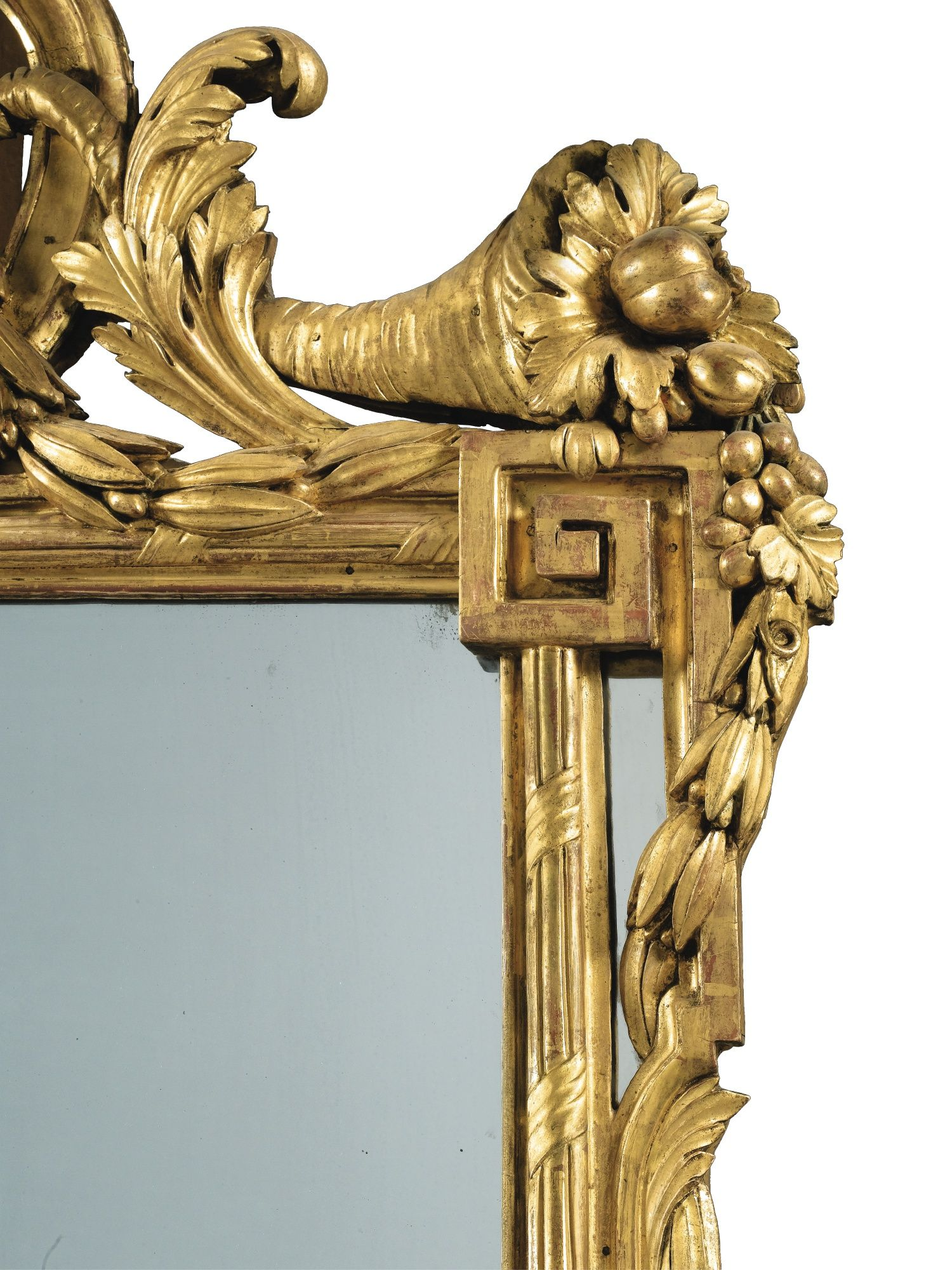 date unspecified A carved giltwood mirror, Louis XVI Estimate 25,000 ...