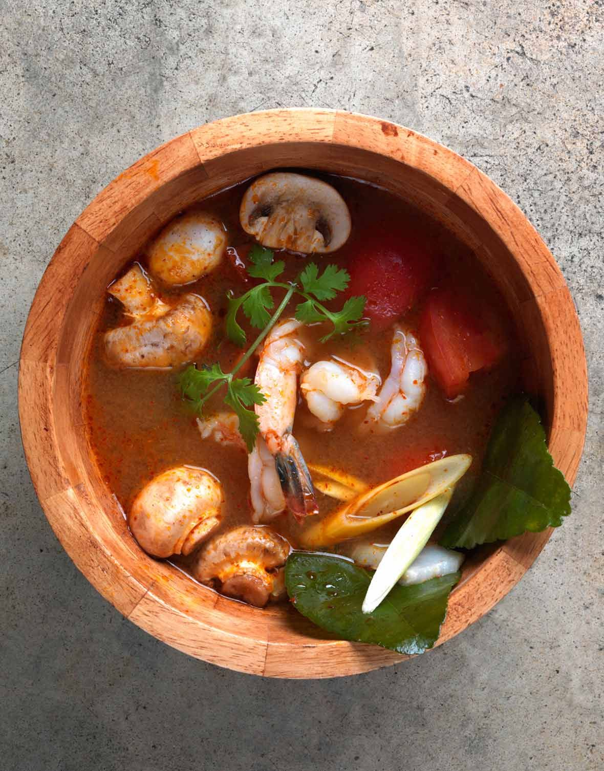 Tom Yum Goong Soup Recipe Chili Soup S Stew S Chowder S