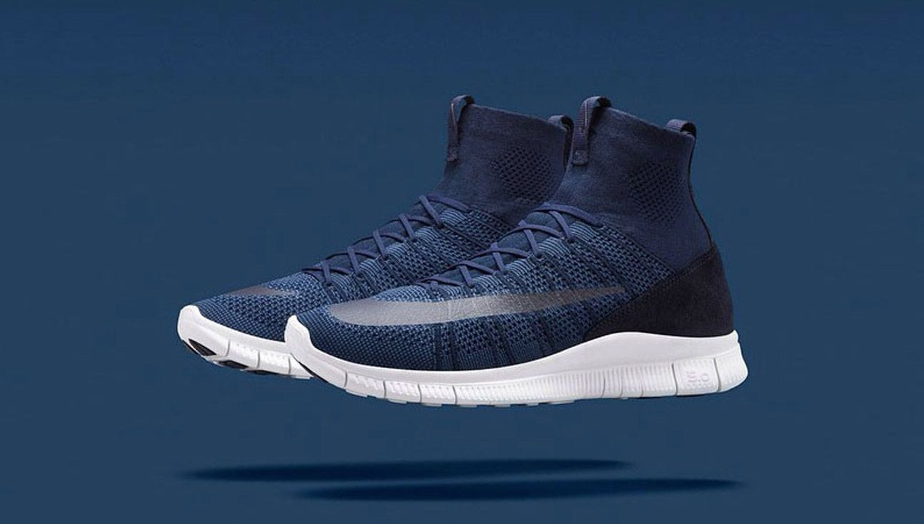 brand new 27652 c0e4a nike free mercurial superfly grey navy