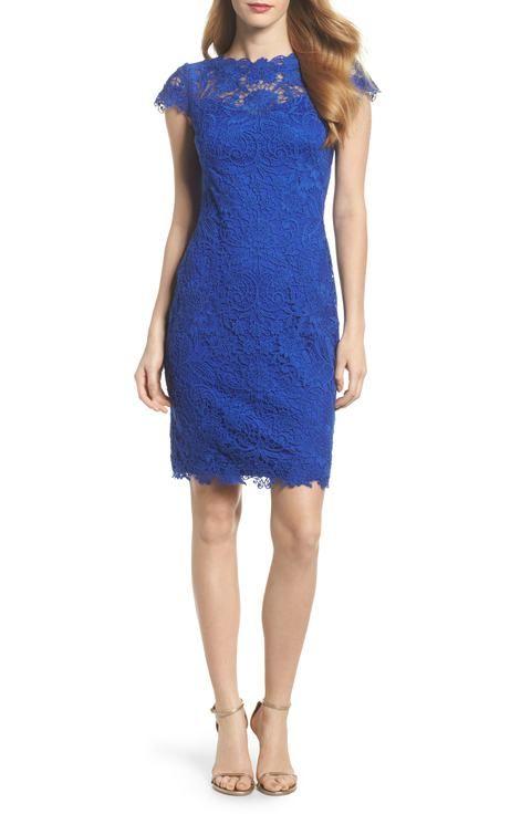 7f22f554b0 Bright Blue Dress for a Wedding Guest