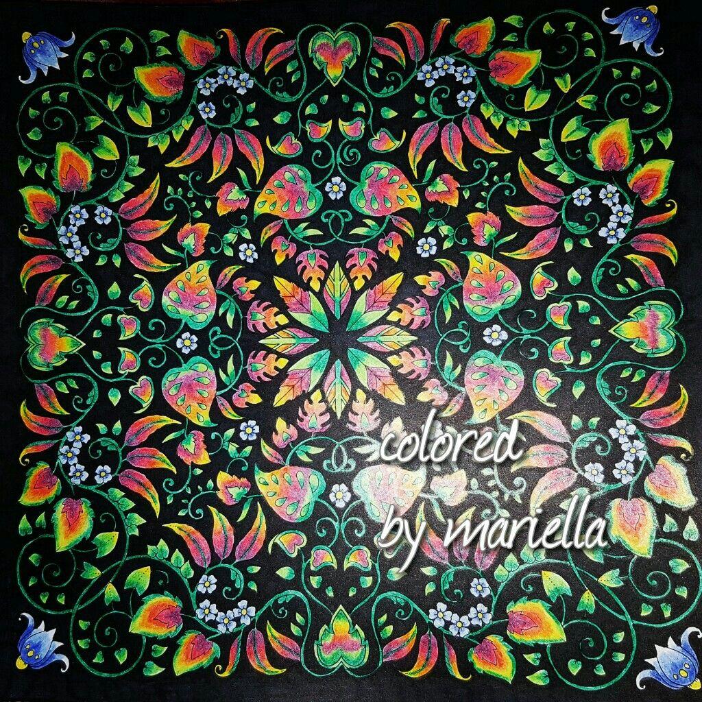 #magicaljungle  #johannabasford  #spectrumnoircolorista  #colorista#spectrumnoir #sharpie