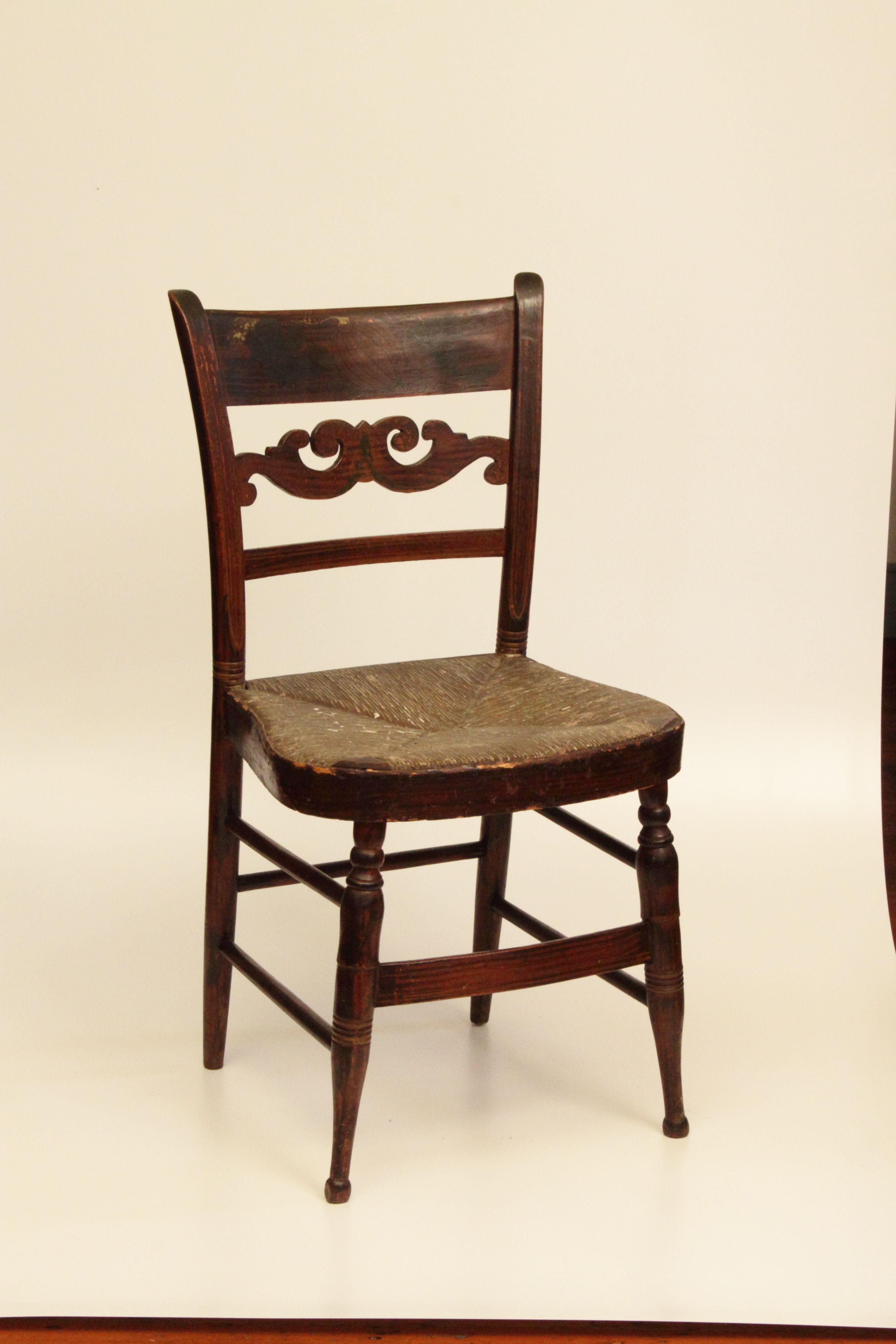 Sheraton Chair In The Lemeilleur Period Room Bolduchousemuseum