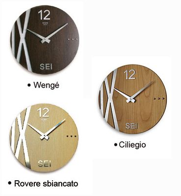 Orologi da parete di design modello pulp fiction in for Orologi particolari da parete