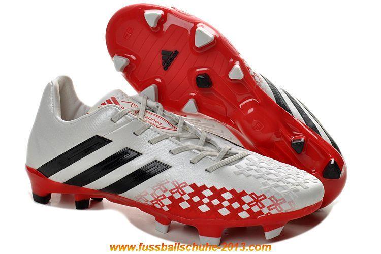 2014 Fußballschuhe adidas Predator LZ TRX FG-Schwarz/Weiss/Rot - See more