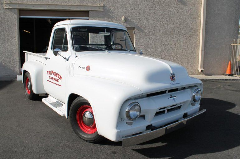 1954 Ford F100 Short Bed Step Side Pick Up - 272 Y Block V8