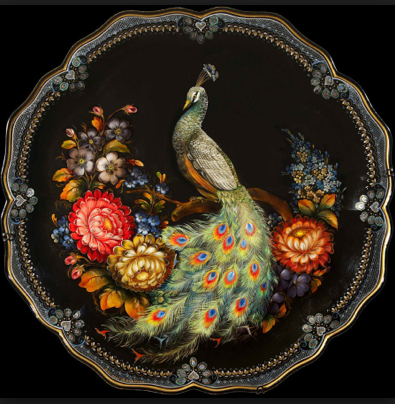 Zhostovo painting, Russia