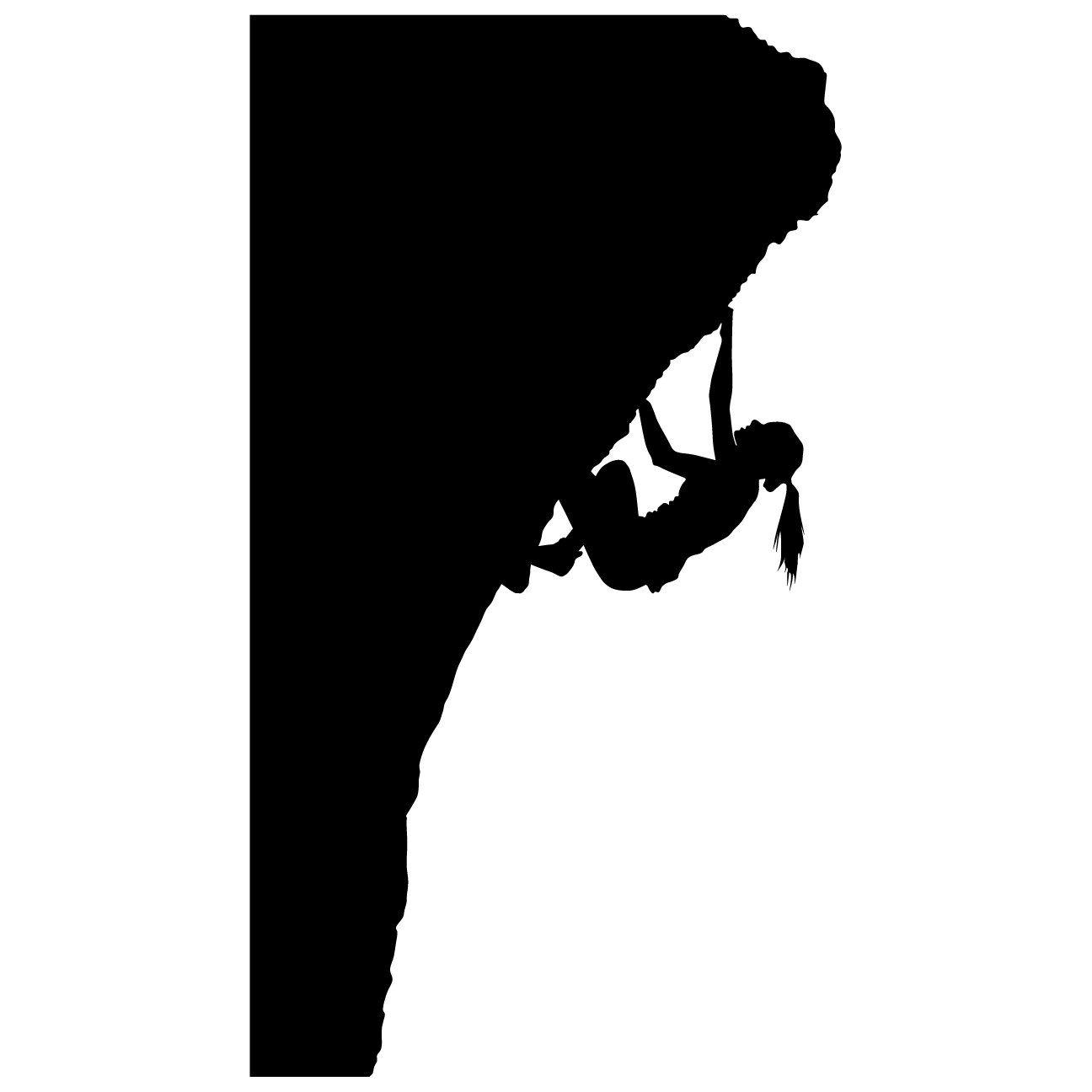 Amazon thevinylguru climbing wall sticker decal 12 amazon thevinylguru climbing wall sticker decal 12 sports silhouette decoration mural amipublicfo Choice Image