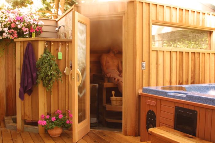 Saunaraum gestalten  Sauna Bauen - zuerst sollten Sie etwas über die Geschichte wissen ...