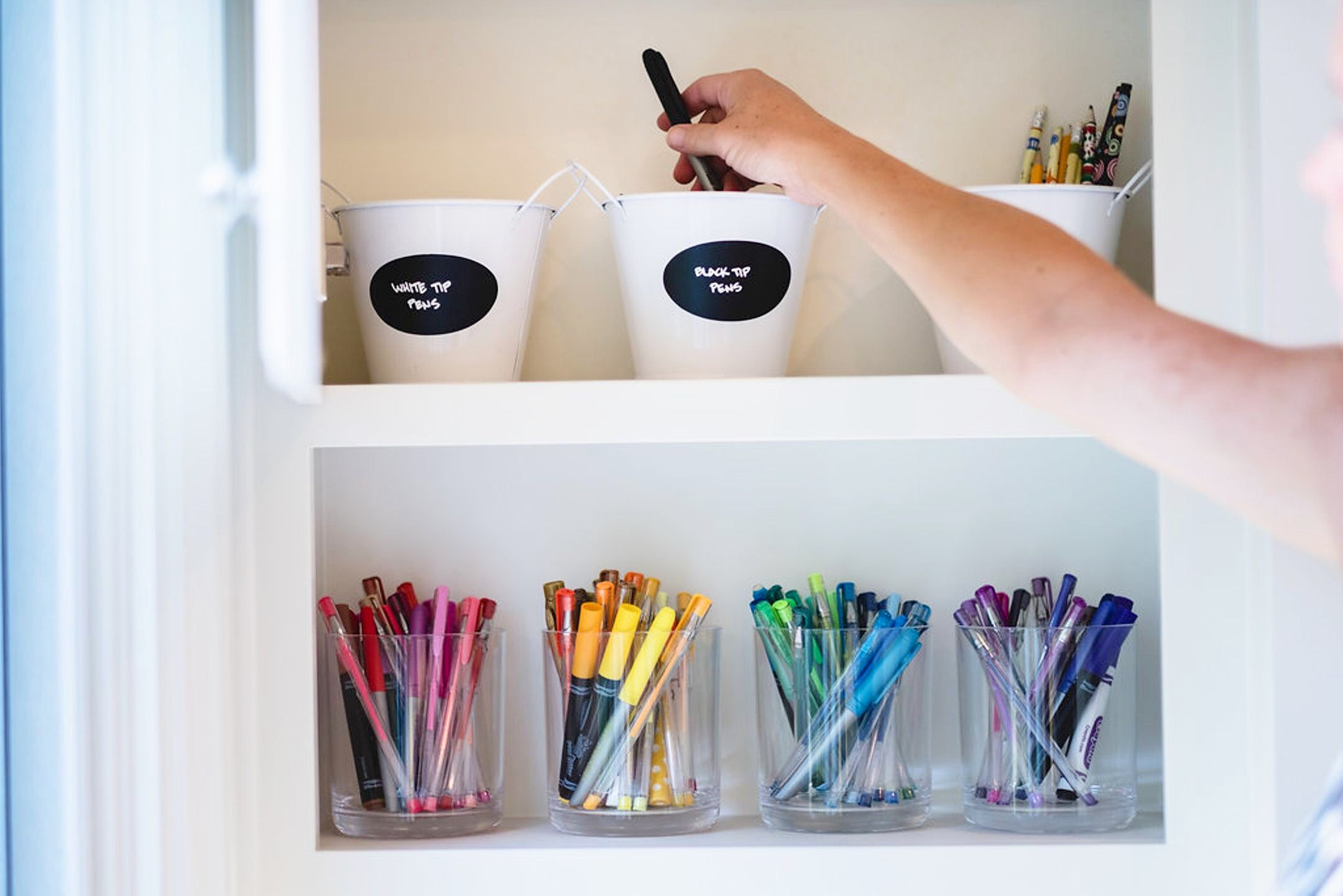 NEAT Method Organized Crafts Diy Ideas Arts And Art Supplies Storage Spaces Colorful