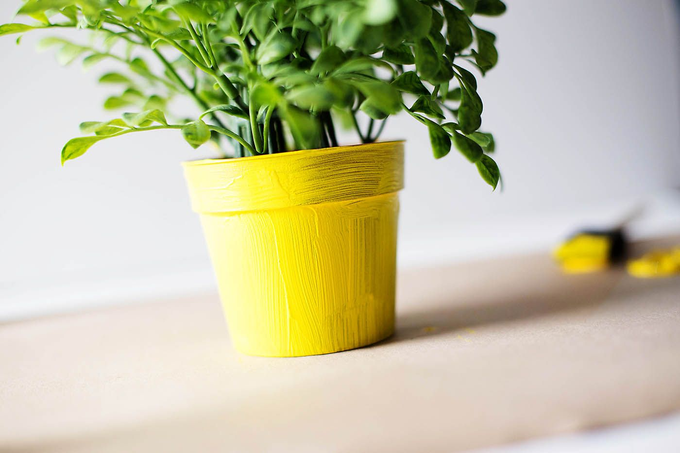 Yellow Pots For Plants   Droughtrelief org Diy Emoji Flower Pot How Are You Feeling Today Fake