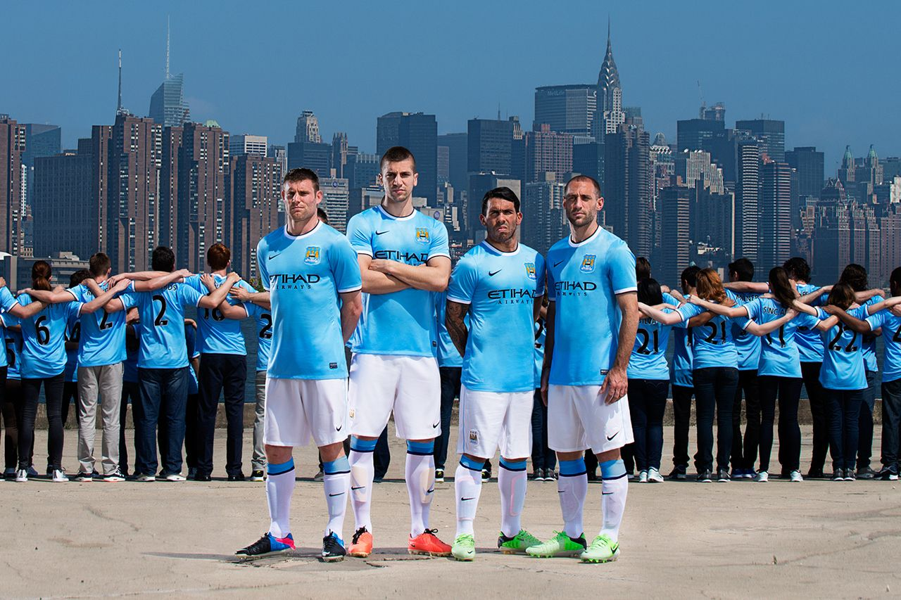List of Nice Manchester United Wallpapers Blue Manchester City FC Unveils First Ever Nike Kit