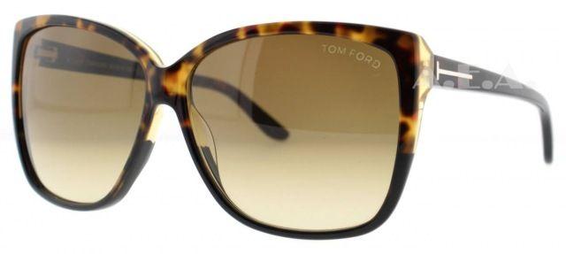 TOM FORD TF 228 LYDIA - Oculos de Sol R.D.O Marrom 05F 61 mm 12 mm ... f1691ef632