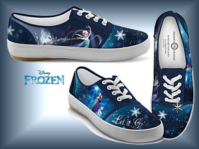 Disney shoes, Canvas shoes