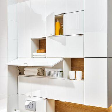 Szafka Wiszaca Multi Pionowa Deftrans Serie Mebli Lazienkowych W Atrakcyjnej Cenie W Sklepach Leroy Merlin Home Decor Shelves Decor