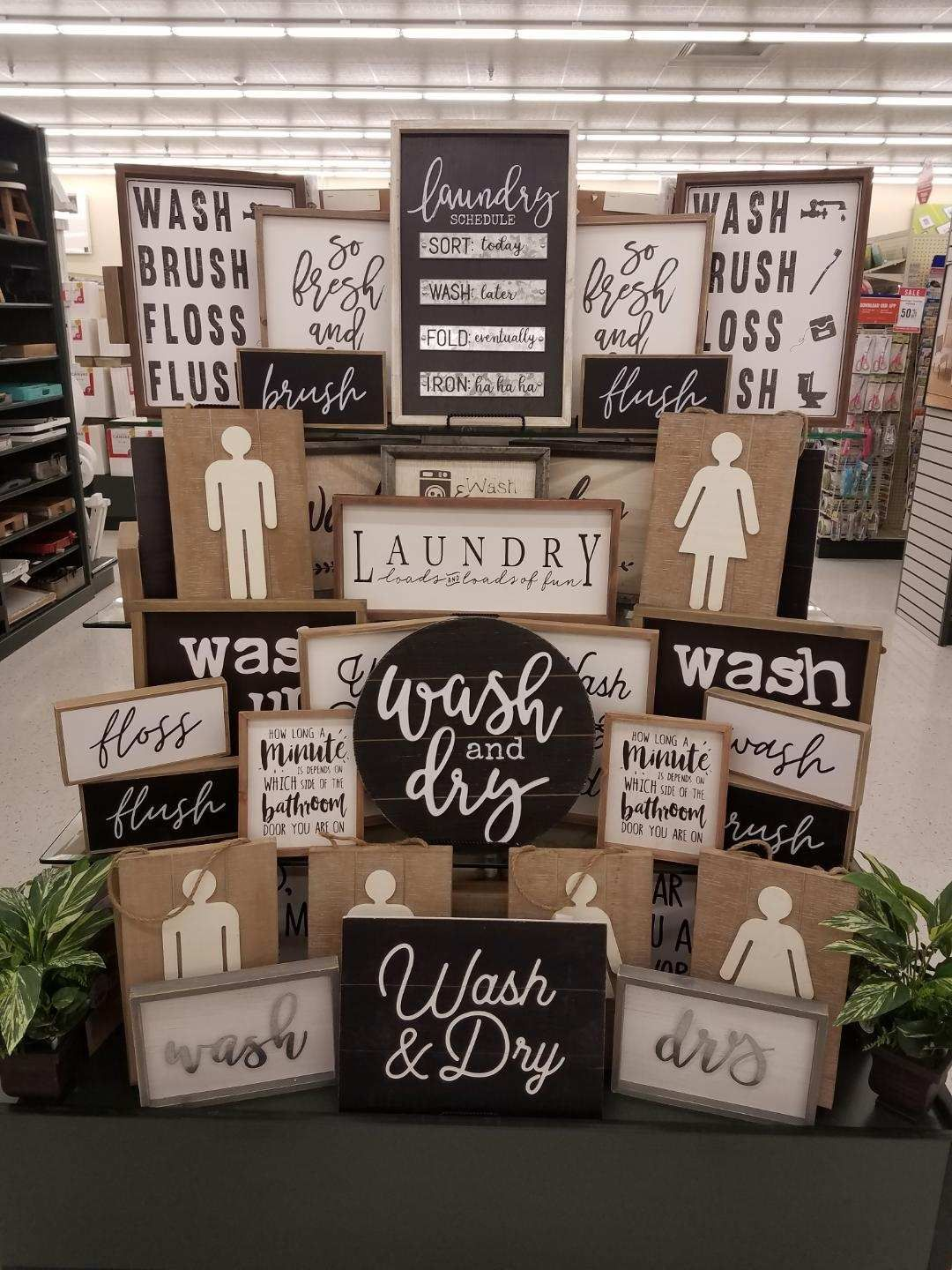 Laundry Room Hobby Lobby Decor Creative Hobbies Home Decor Styles