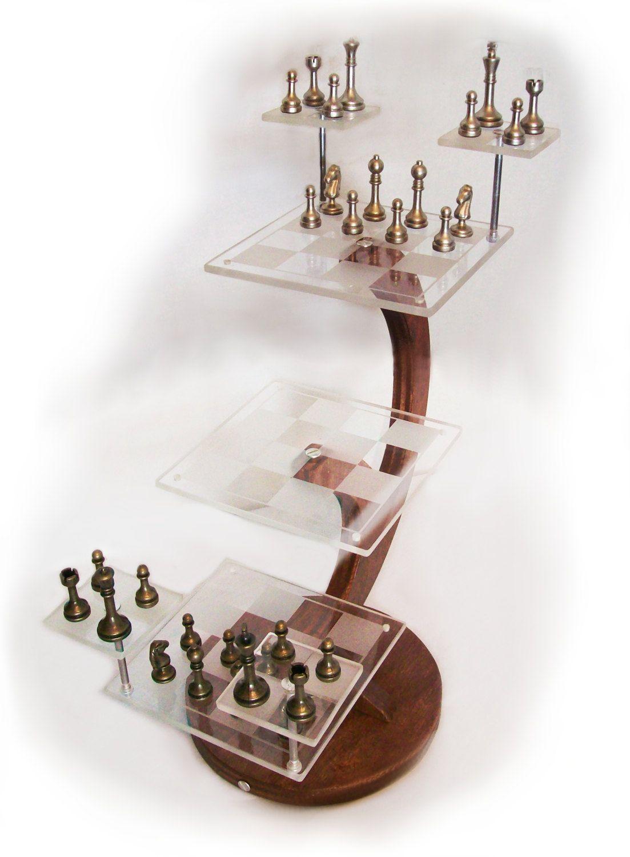 Chess Set Star Trek Mr Spock 3d Chess Jeu Echec Et Jeux