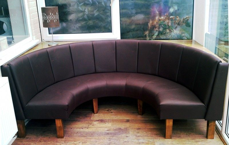 Sketch Of Curved Banquette Seating, Lovely And Artful Seating For Any  Occasions · Kitchen BenchesBanquette ...