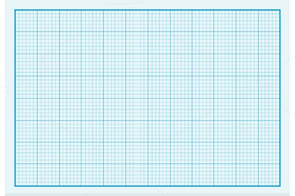 Graph Paper Background Design Flat by robuart on @creativemarket - engineering graph paper template