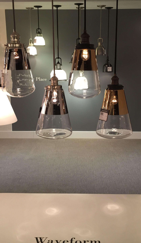 Each light fixture in the modern waveform pendant light collection each light fixture in the modern waveform pendant light collection by feiss is an elegantly simple aloadofball Images