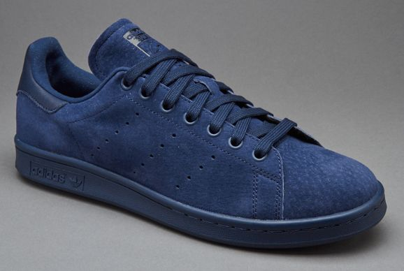 adidas Originals Stan Smith Suede - Night Indigo / Core Black