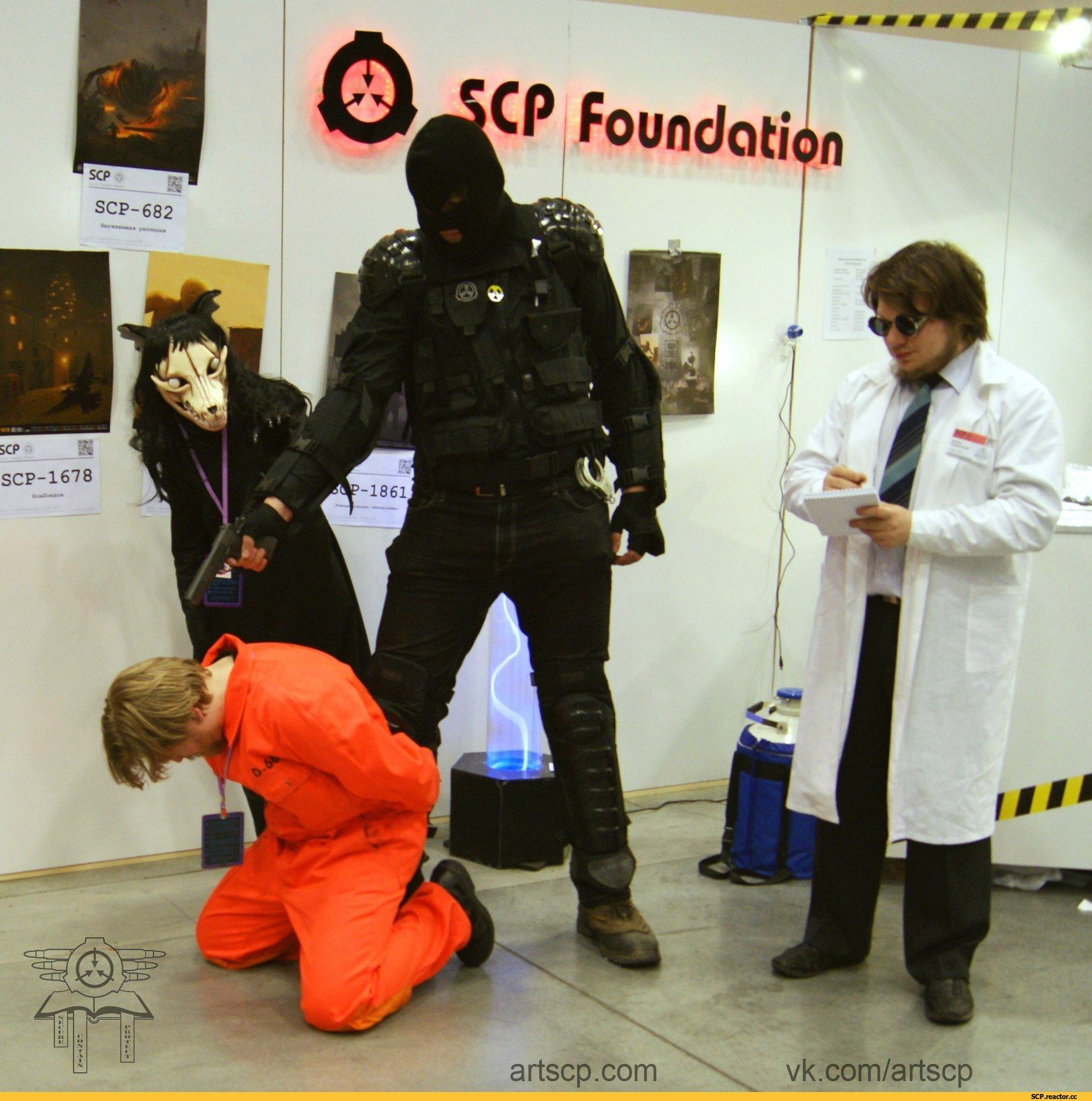 Scp Cosplay