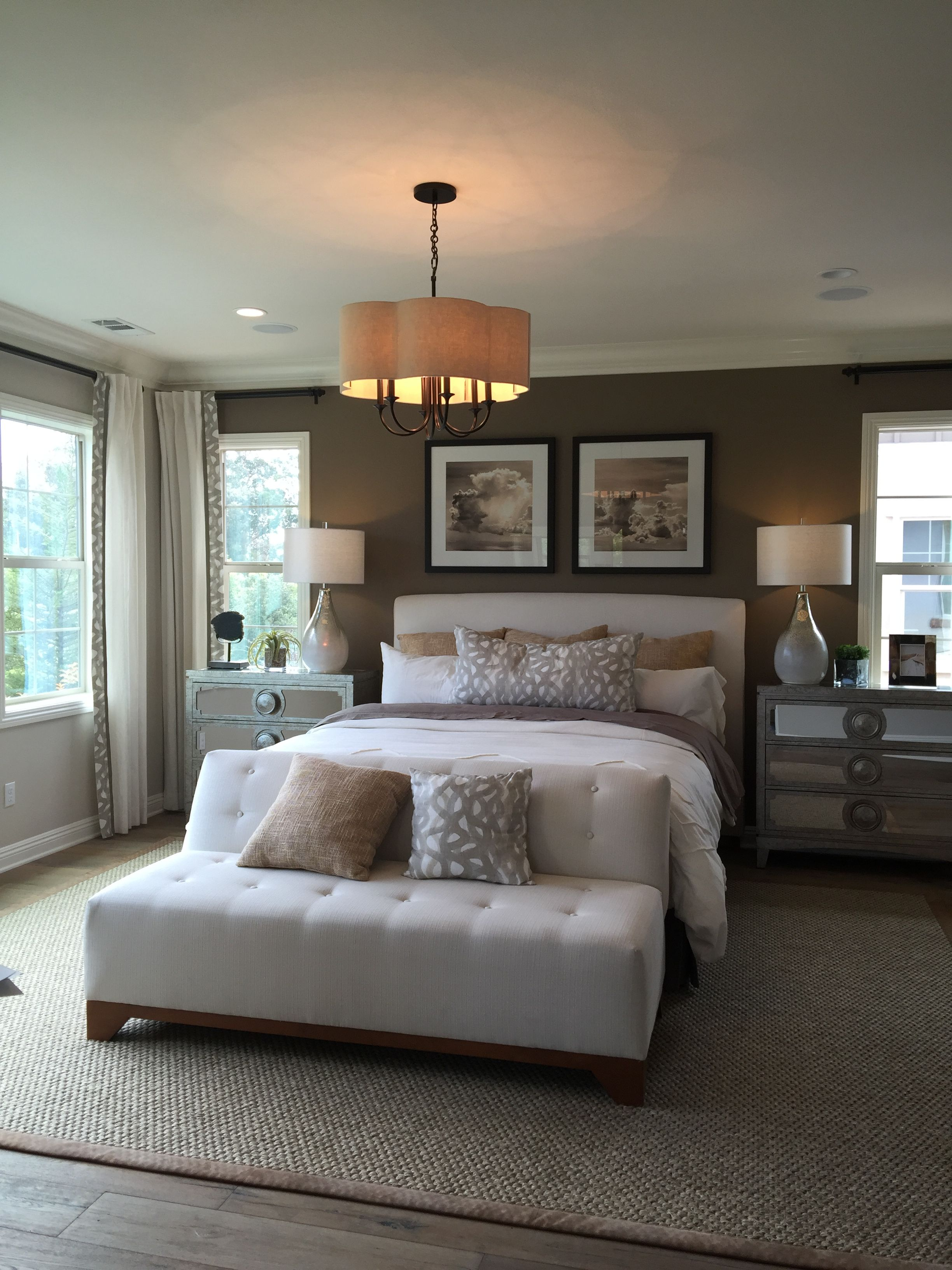 Master Bedroom: Night Stands And Lighting