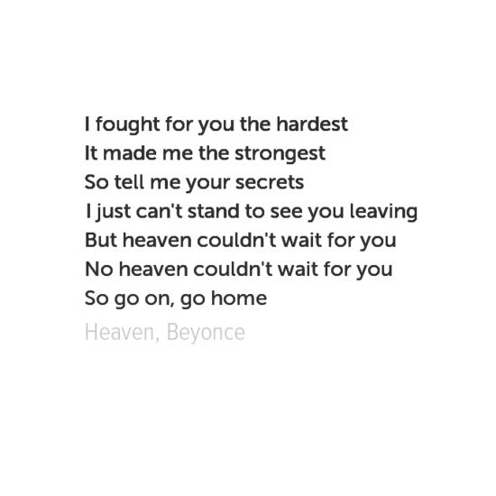 made with behappy.me #lyrics #beyonce