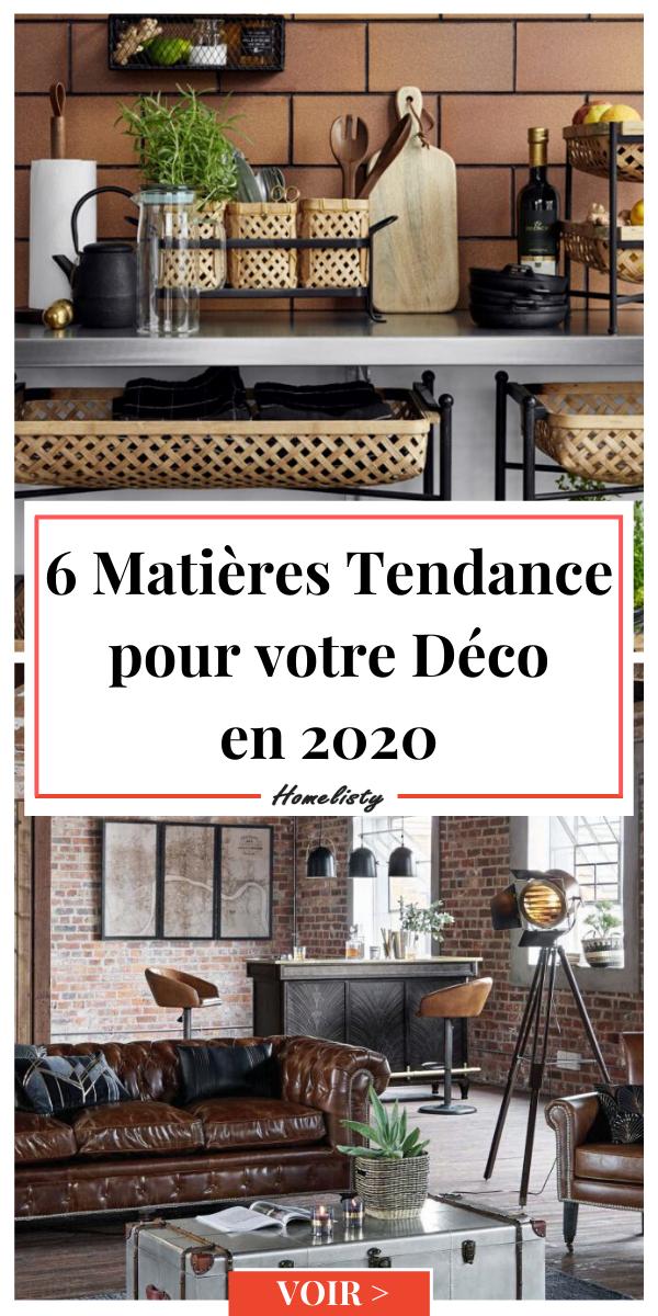 Découvrez les tendances déco pour les matières, qui selon nos recherches, vont être les plus populaires en 2020 #deco #matieredeco #matierestendance  #decoration #decorationinterieur #homestaging #home #homedecor #inspiration #design #home #homedecor