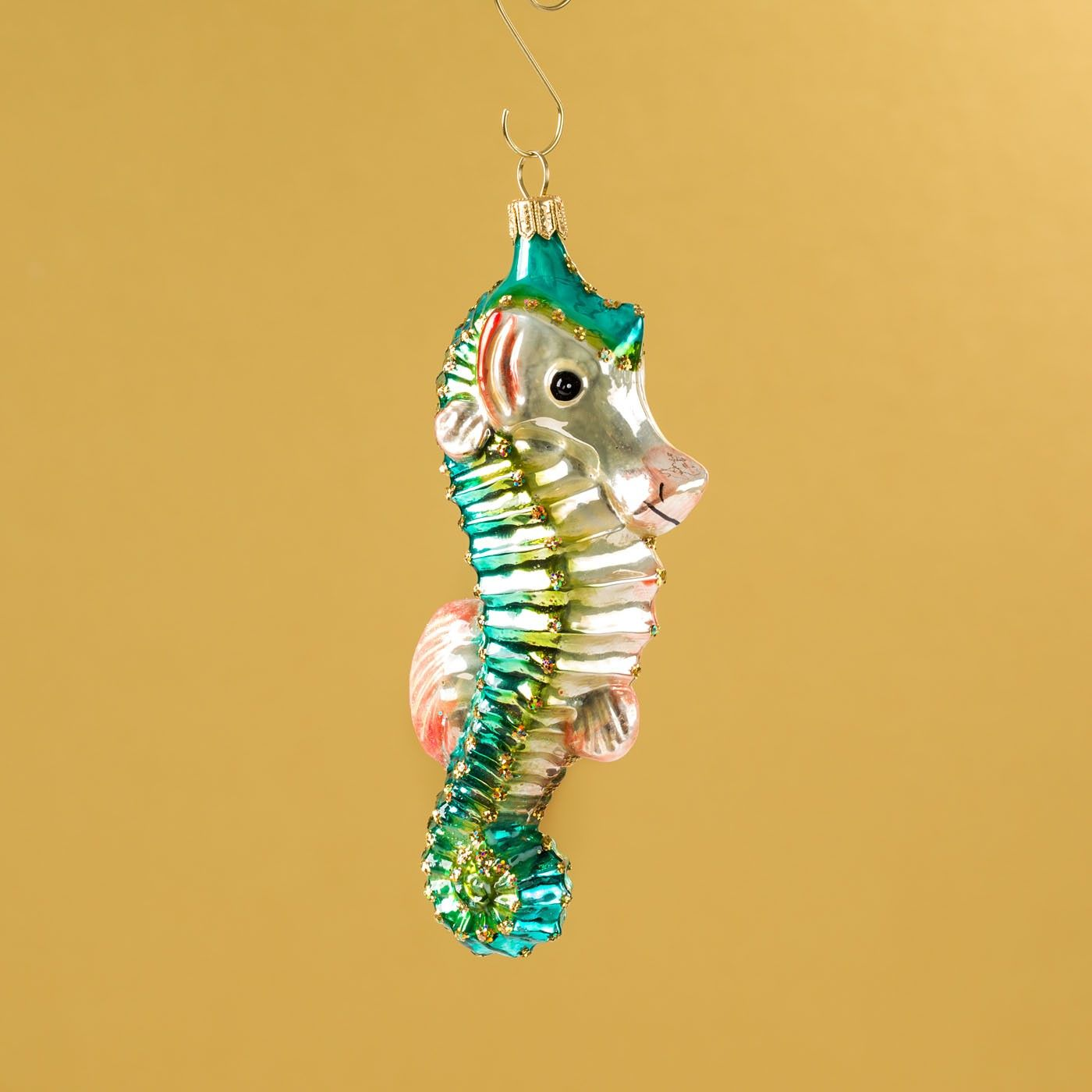 christmas ornament - Seahorse Christmas Ornament