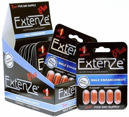 Extenze Plus World S Most Popular Male Enhancement 4 Months Supply